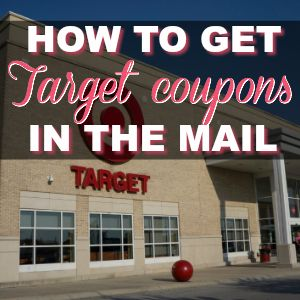 How To Get Target Coupons In The Mail