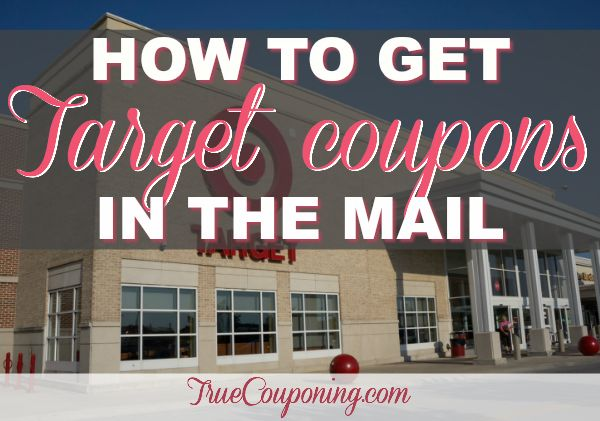 How To Get On The Target Mailing List For Coupons