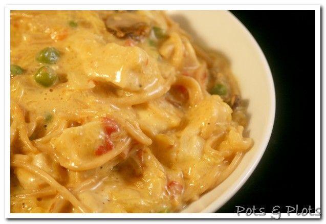 Velveeta Rotel Chicken Pasta Casserole Recipe