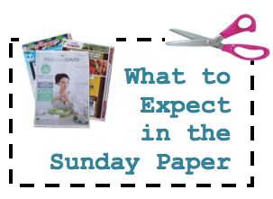 NO Coupon Inserts for this Sunday, 7/20/14! {Contact #s Included}