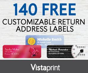 Vistaprint: $6 Customized T-Shirts!