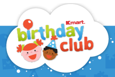 kmart birthday club birthday