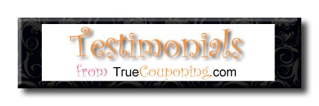 A True Couponing Testimonial from Wenonah D.!