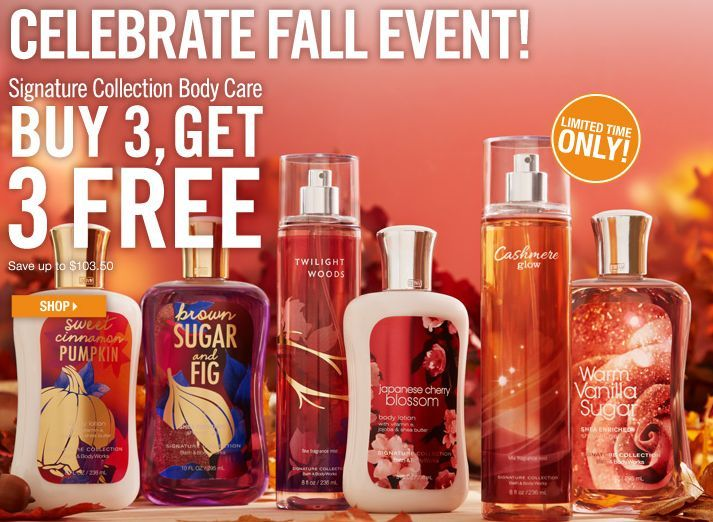 Bath and Body Works $10 Off $30 Printable Coupon – Expires 10/8/12