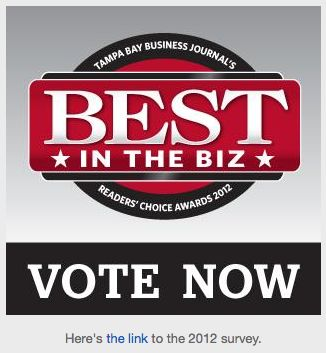 Vote for True Couponing!  Tampa Bay's Best in the Biz