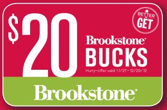 Living Social Deal: $25 for $50 Worth of Brookstone Gift Certificate!  {plus a Deal Scenario good TODAY Only!}
