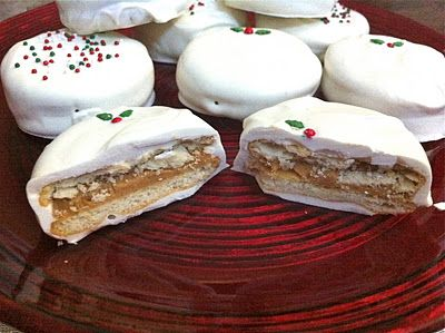 12 Days of Christmas Cookies (Day 11) ~ White Chocolate Peanut Butter Cookies