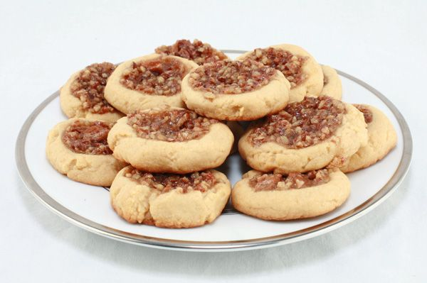 12 Days of Christmas Cookies (Day 7) ~ Pecan Pie Cookies