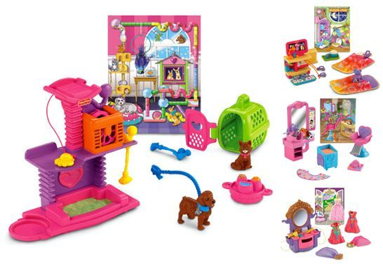 Fisher Price Deal of the Day (12/7/12):  Loving Family Hidden Room Sets – $6.88