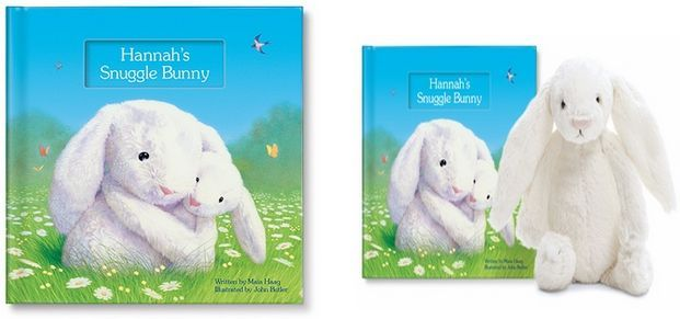 Adorable Personalized Children's Book Makes a Great Gift for Valentine's Day, Easter, Anytime!