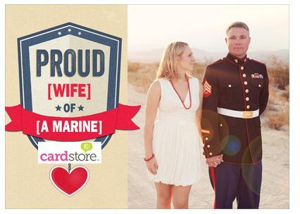 Send Your Special Military Member a Valentine for Just 99 Cents!