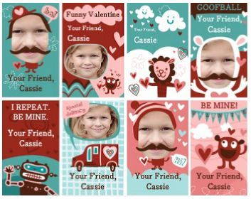 "FREE ""My Friends"" Printable Valentine Trading Cards ~ Great for Kids to Give at School!"