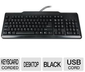 TigerDirect Daily Deal Slasher (1/31/13): Standard Computer Keyboard ~ FREE!
