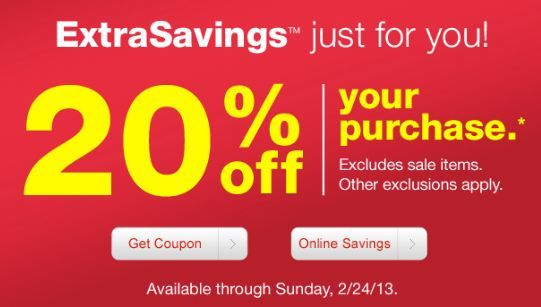 Check Your Inbox: CVS 20% Off Coupon ~ Expires 2/24!
