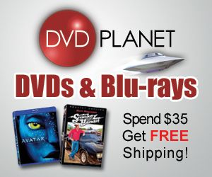DVD Planet: Great Selection of DVD's & FREE Shipping w/$35 +!