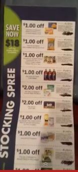 Publix March Stocking Spree Coupon Sheet 2013