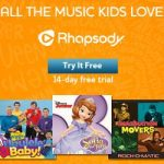 Rhapsody: FREE 14 Day Trial – NEW Children's Music!