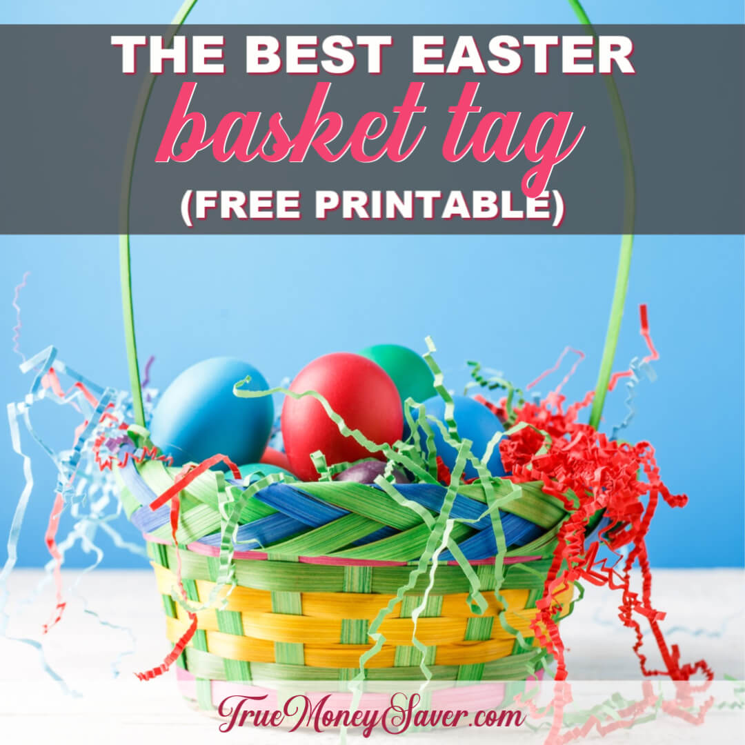 The Best Easter Basket Tags To Share This Year