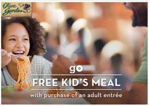 Olive Garden: FREE Kid