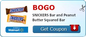 **HOT** BOGO Snickers Singles Printable Coupon!