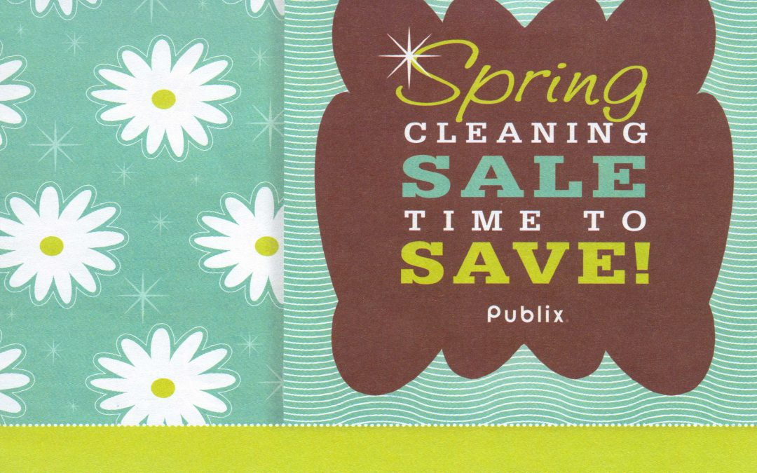 Publix Spring Cleaning Sale 4/1 – 4/17/13