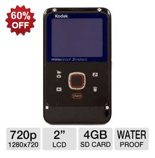 Kodak Waterproof HD Camcorder ONLY $19.99! ~ 3/8/13 Only