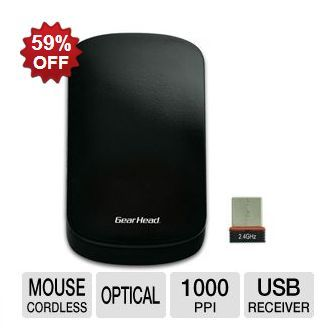 Gear Head Wireless Touch Nano Mouse ONLY $6.99! ~ 3/14/13 Only