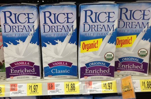 Rice Dream at Walmart