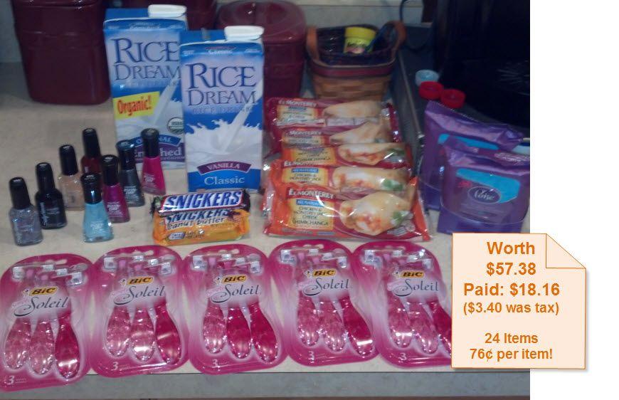 Walmart Shopping Trip 4-9-13