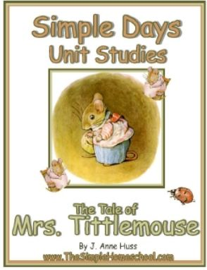 Mrs Tittlemouse Unit Study