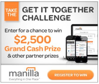 Manilla: A FREE Way to Manage Bills + Enter to Win Prizes!