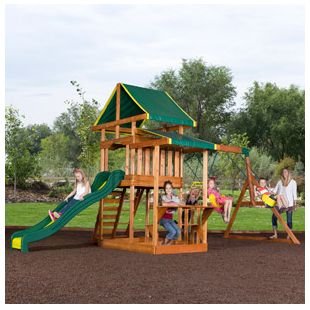 Memorial Day Sale at Walmart.com! Backyard Discovery Pathfinder II Cedar Swing Set- $399.99
