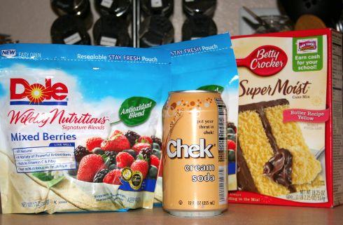 3 Ingredient Berry Cobbler Recipe