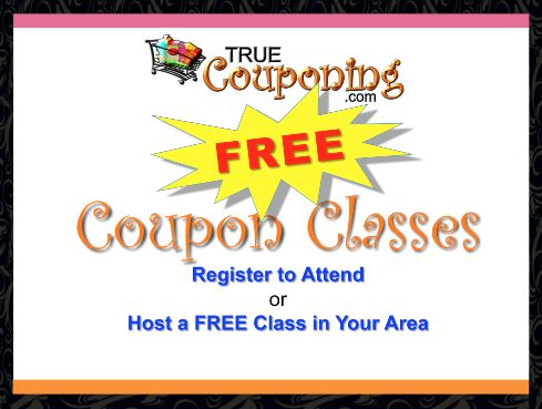 FREE Coupon Classes: True Couponing Workshops January 2014