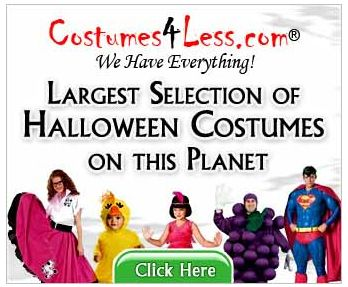 Costumes4Less.com:  Buy More Save More Up to $25 Off + FREE Shipping**!   Ends 10/31