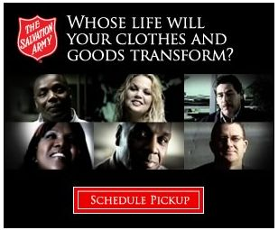 The Salvation Army ~ Donate Your Unwanted Items to Help Others!