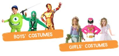 Walgreens.com:  Save 25% On Costumes for Everyone with Discount Code + FREE Shipping*!  Ends 10/19