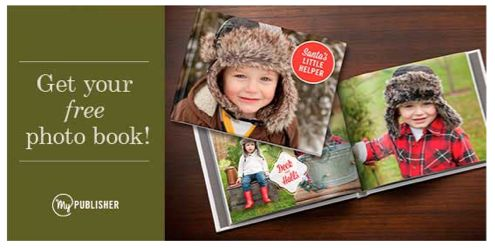 New Customers Get a FREE Photo Pocket Book at MyPublisher.com!  Ends 12/25
