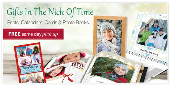 CVS Photo Deal ~ Order Photo Gifts Online and Pick Them Up the Same Day!