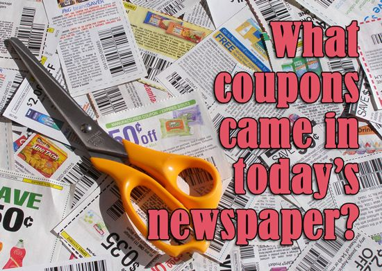 Extra Coupons in Today's Newspaper, Sunday 8/31/14 {Target $5/$20 Carter's Baby SQ & 25% Boots & Barkley SQ & Tampa Publix $5/$40 SQ!}