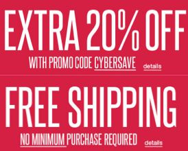 Save an EXTRA 20% with Discount Code at Kohls.com + Get FREE Shipping with NO Minimum!  Ends 12/4
