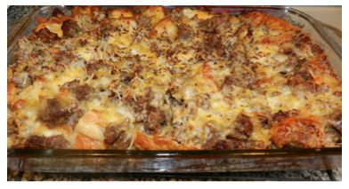 Our Favorite Christmas Recipes: Sausage Strata