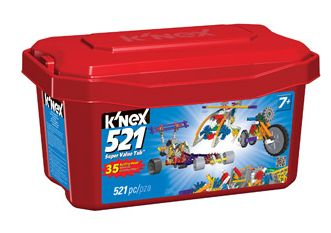 Walmart Value of the Day (12/17/13):  K'NEX Value Tub 521 Pieces – $10