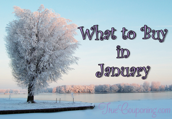 Best Things To Buy In January (and what not to buy)