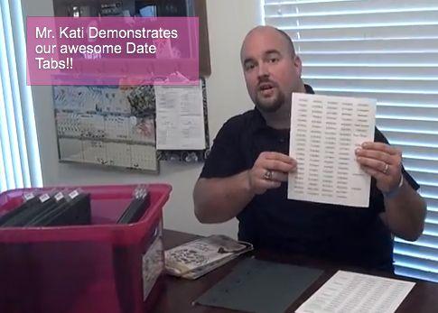 Video: Date Tabs Demonstration