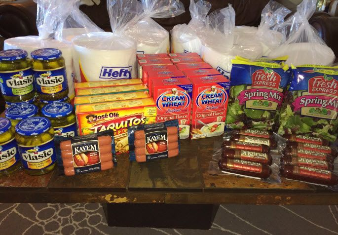 Over $182 in Groceries, for just $55! It's a Man's Week To Coupon: Sausages, Pickles & Plastic Plates!