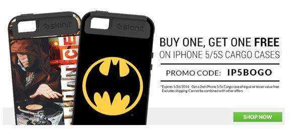 Skinit iPhone 5/5s Case BOGO $34.99!