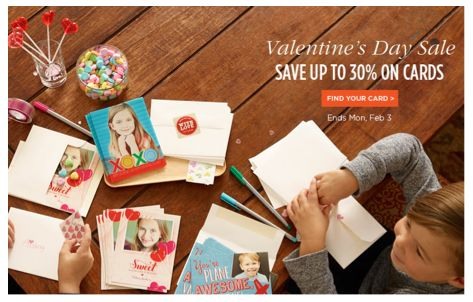 Get 12 FREE Valentine's Day Cards at Shutterfly.com!
