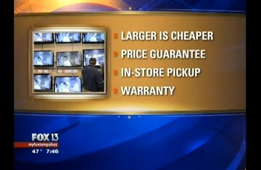 Video: When To Buy a TV and Stockpiling