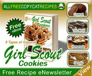FREE eBook ~ Girl Scout Cookie Copycat Recipes!